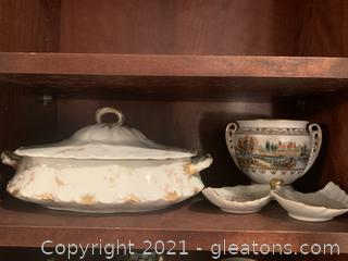 Handpainted Porcelain Soup Tureens