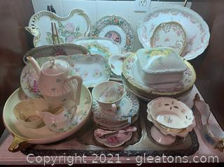 Mixed Porcelain and Brave China Tea Sets