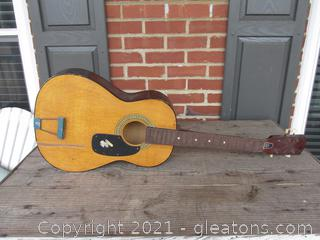 Project Acoustic Guitar in need of Restoration / You can find how to do it on YouTube :0)