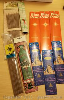Lot of 10 Fragrance Incense