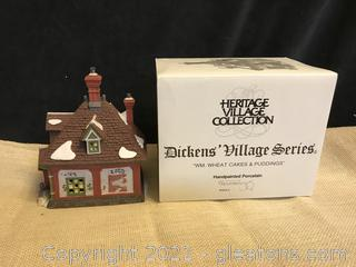 "Dept.56 Dickens Village "" WM Wheatcakes and Puddings"