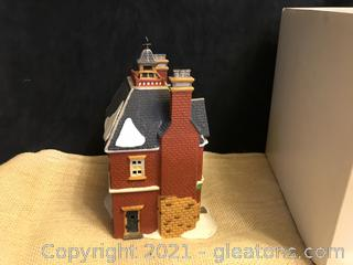 Dept. 56 Dickens Village Boarding and lodging school