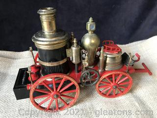 0ld steam replica fire wagon