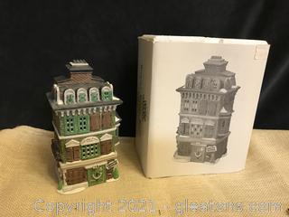 "Dept 56 Dickens village ""The Flat of Ebenezer Scrooge"