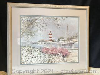 Beach scene by Selma Jernigan numbered 394/950