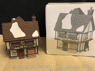 Dept 56 Dickens Village Tutbury Printer