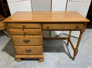 Farmhouse Style Desk W/Dovetail Drawers