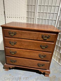 Farmhouse Style Willett Wildwood Solid Cherry Dresser