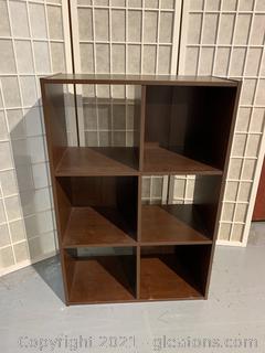 PRE-FAB 6 Cubby Shelf