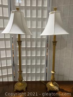 Vintage Berman Table Lamps (2)