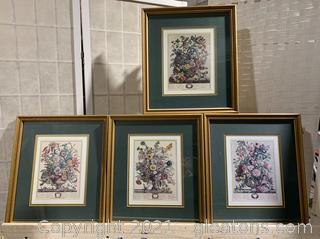 4 Framed Printed Art Work