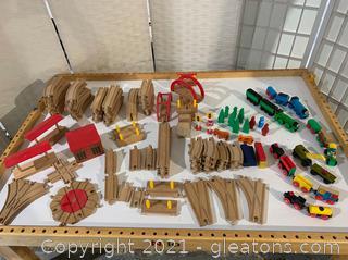 Classic Wooden Thomas The Train Set