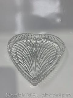 Waterford Crystal Heart Dish