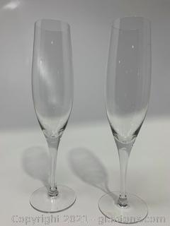 Orrefors Crystal Illusion Flutes