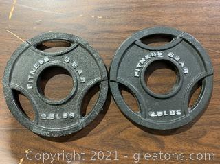 Fitness Gear Weights (2)
