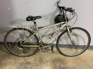 """26"""" Novara 7 Speed Bike W/Helmet"""