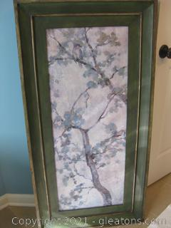 Uttermost Vertical Chinoiserie Style Wall Hanging