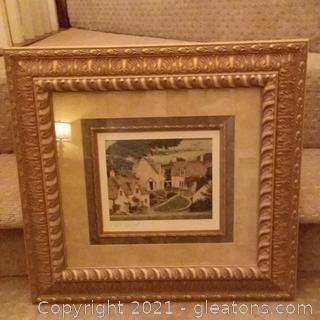 Framed Tom Caldwell Print- Signed in Pencil