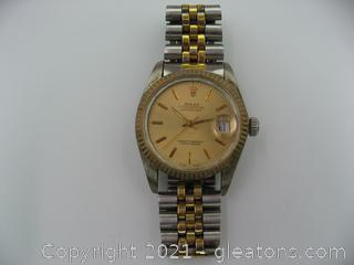 Men's Rolex Date Just (Not Authenticated)