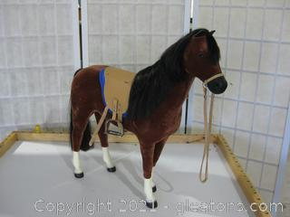 American Girl Horse with Saddle