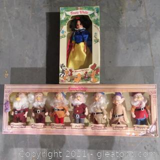 1980's Collector's Edition Disney Snow White and The Seven Dwarfs
