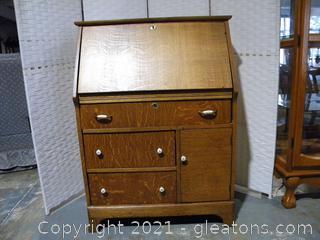 Secretary Desk with Drop Front