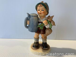 Boy with Beer Stein & Turnips