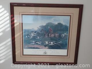 Gorgeous R. B. Davis T Goosey Huntsman, to the Belvoir Hounds (Located in Cottage 1)