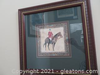 Attractive Mary Beth Zeitz, Ready To Hunt (A) Print (Located in Cottage 1)