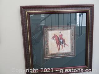 Attractive Mary Beth Zeitz, Ready to Hunt (B) Print (Located in Cottage 1)