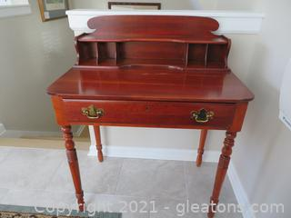 Stunning Lexington Writing Desk (located in cottage 1 upstairs)