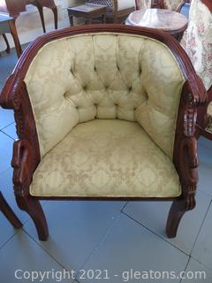 Empire Style Arm Chair (located in Event Center)