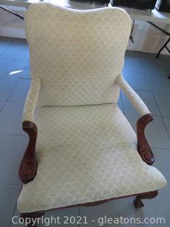 Ivory Bassett Arm Chair (located in Event Center)