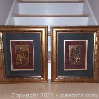 Pair of 3D Wall Art Prints (located in cottage 1)