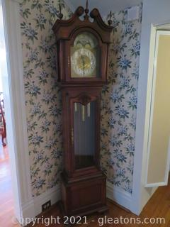 Gorgeous Grandfather Clock (located in house)