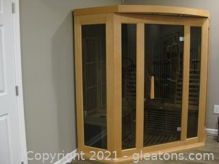 Maxxus Infrared Sauna with CD Player