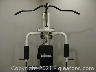 Bollinger Home Gym System with Big 20 Exercise Chart