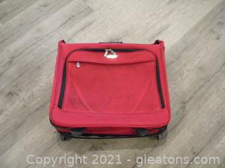 Rolling Garment Bag Suitcase
