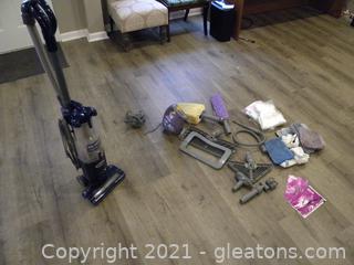 Shark Navigator Vacuum & Shark SC630W Steamer with Attachments