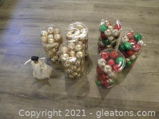 Christmas Ornaments and Tree Topper