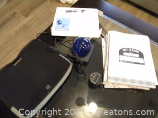 Blue Tooth Headset, Technology Lot with Paper