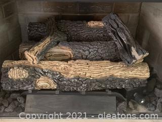 Gas Fireplace Insert Logs