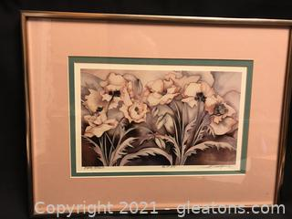 Water color signed JUDY Burgsma