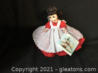 "Madame Alexander Jo 8"" doll with box"