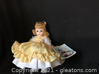 "Madame ALEXANDER Amy 8"" doll with box"