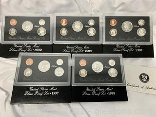 Us Mint Silver Proof