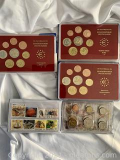The French Coin Series 1998 Brilliant on Circulate