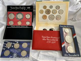 "US Proof Set ""Silver""  Uncirculated  ""1776-1996"""