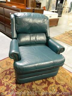 Faux Leather Reclining Chair