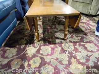 Oak Deep Leaf Coffee Table
